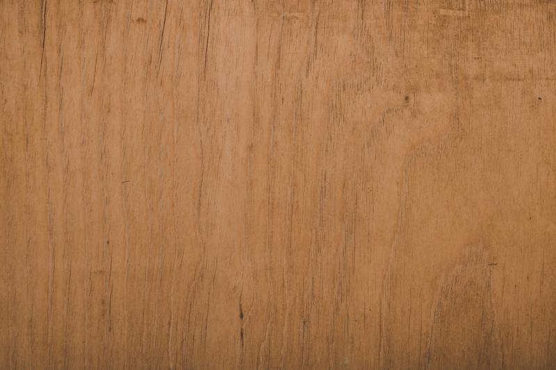 how to clean water damaged bare wood