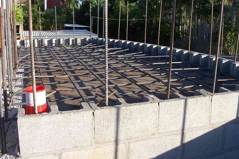 how to repair a water damaged concrete slab