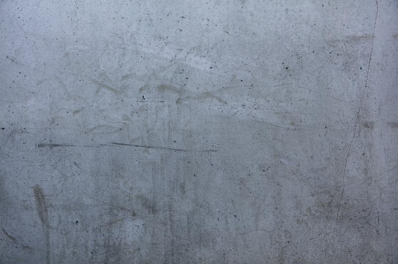 how to repair water damaged cement wall