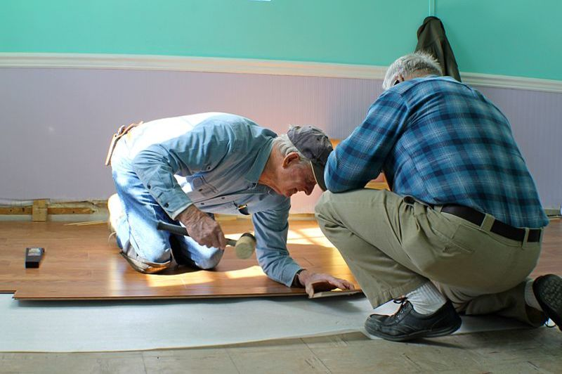 how to replace water damaged wood floor tongue