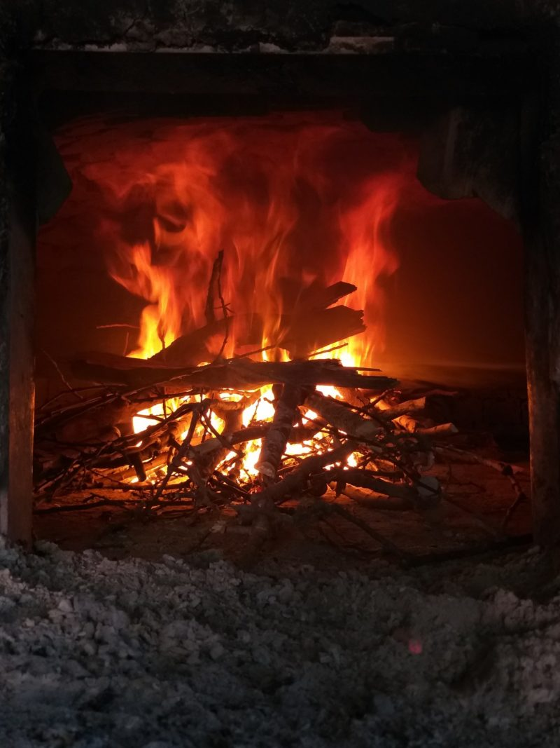 how to vent a wood stove without a chimney