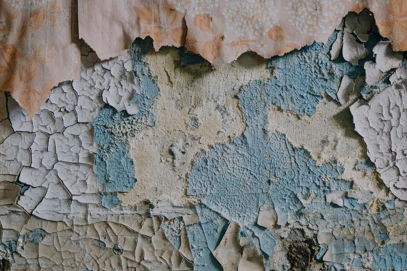 what is required to repair water damaged paint