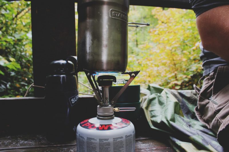 How to make a camp stove