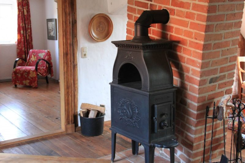 how to clean a wood stove chimney from the bottom up
