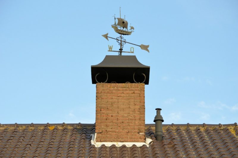 how to install a pellet stove through the chimney