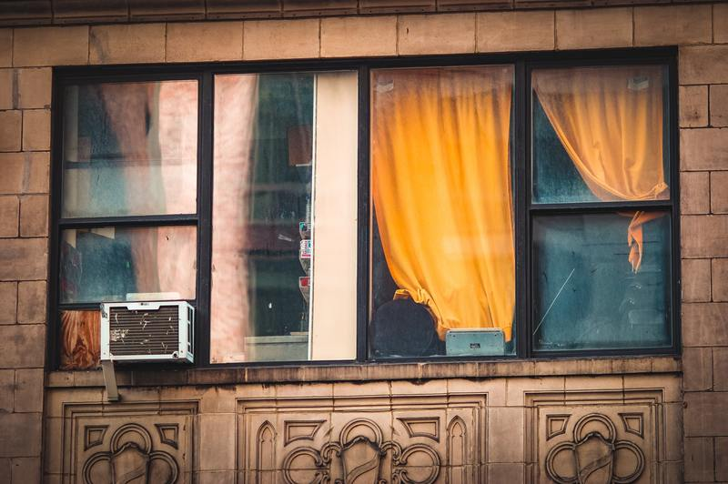 what kind of mold grows in window air conditioners